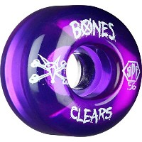 【BONES WHEEL】ボーンズ 【SPF Clear Purple 56mm】 84B SKATEBOARD スケボー WHEEL ウイール