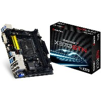 BIOSTAR バイオスター マザーボード RACING X370GTN [AMD AM4 Ryzen X370]