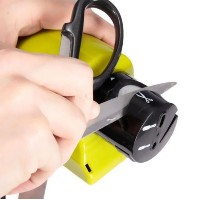 Electric Scissors and Knives Sharpener Cordless Motorized Tool Blade Sharpener