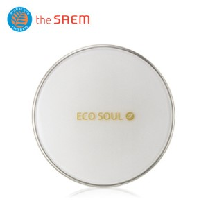 ★The SAEM/ザセム★エコソウルカバーステイクッション02ナチュラルベージュ/ECO SOUL Cover Stay Cushion  02 Natural Beige/韓国コスメ