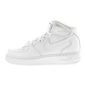 NIKE SP17 WMNS AIR FORCE 1 '07 MID 366731-100 WHITE/WHITE ナイキ ウィメンズ エア フォース 1 07 MID ホワイト/ホワイト
