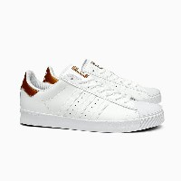 ADIDAS SKATEBOARDING SUPERSTAR VULC ADV [BB8611 WHITE/COPPER METALLIC]アディダス スーパースター バルカ 白銅 ホワイト...