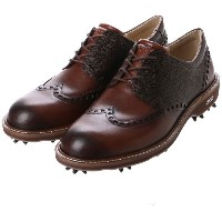エコー ECCO MEN'S GOLF LUX (Brown) メンズ