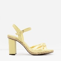 【SALE 50%OFF】ノットサンダル / KNOTTED SANDALS(Yellow) レディース