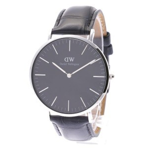 【SALE 35%OFF】ダニエル ウェリントン Daniel Wellington CLASSIC BLACK Reading Silver 40mm (BLACK)