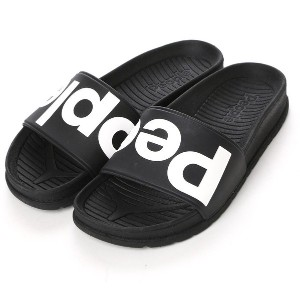 ピープル PEOPLE atmos SLIDE (BLACK) レディース