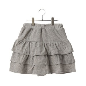 【SALE 50%OFF】コムサイズム COMME CA ISM ティアードキュロット (グレー)
