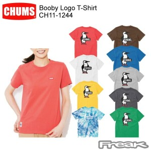 CHUMS チャムス CH11-1244 Booby Logo T-Shirt Women's ブービーロゴTシャツ ※取り寄せ品