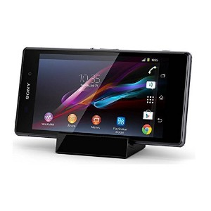 【LIHOULAI】SonyXperiaZ3Compact卓上ホルダーXperiaZ3CompactSO-02G充電器XperiaA4docomoSO-04G充電スタンドMircrousbクレードルド