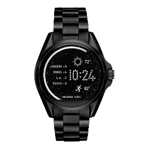 レディース MICHAEL KORS ACCESS Bradshaw Touchscreen Smartwatch スマートウォッチ ブラック
