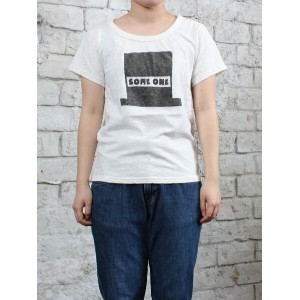 【42%OFF】【sale セール】PACIFIC PARK STORE(パシフィックパークストア)スラブ天竺半Tee SOME ONE サムワン pps-22323【ネコポス便は1枚まで】...