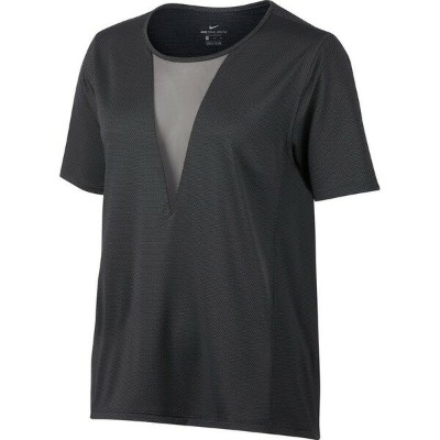 ナイキ レディース フィットネス スポーツ Nike Zonal Cooling Relay Running Top - Women's Anthracite