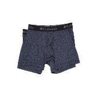 コロンビア メンズ ブリーフパンツ アンダーウェア Athletic Performance Boxer Brief 2-Pack Geo Graphic Line 2/Ombre Blue