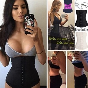 LOVER-BEAUTY Waist Trainer Waist Training Corsets Body Shaper Fajas Reductoras Girdle Control...