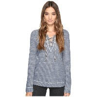 Lucky Brand Lace-Up Pullover Top
