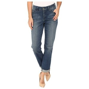 NYDJ レディース ボトムス・パンツ ジーンズ・デニム【Jessica Relaxed Boyfriend Jeans in Montpellier Wash】Montpellier Wash