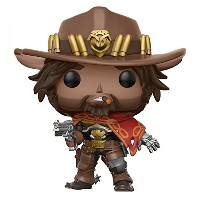 Funko - Figurine Overwatch - Ser 2 Mccree Pop 10cm - 0889698130875