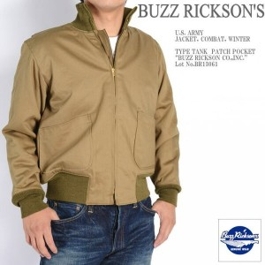 "BUZZ RICKSON'S バズリクソンズ タンカース パッチポケット Type TANK PATCH POCKET ""BUZZ RICKSON CO.,INC."" BR13061"