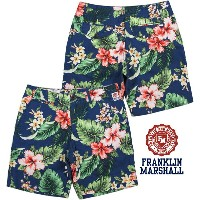 "【SALE】30%OFF★FRANKLIN&MARSHALL/フランクリンアンドマーシャルMEN'S REGULAR FIT BERMUDA SHORTS made of POPLIN""SHORTY..."