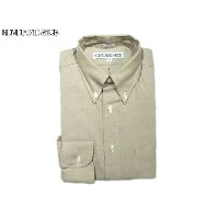 INDIVIDUALIZED SHIRTS(インディビジュアライズド シャツ)/L/S STANDARD FIT B.D. HERITAGE CHAMBRAY SHIRTS/beige
