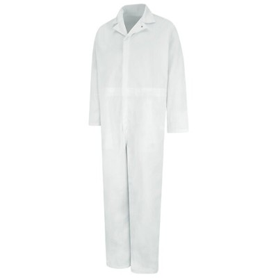 RED KAP レッドキャップ CT10WH TWILL ACTION BACK COVERALL -WHITE-