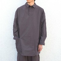 too good(トゥーグッド) / THE APPLEPICER TOP COTTON PERCALE SHIRT -SLATE-
