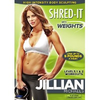 SALE OFF!新品北米版DVD!Jillian Michaels: Shred-It With Weights! ジリアン・マイケルズ