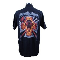 Brotherhood Skull Firefighter 消防Tシャツ SH
