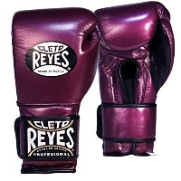 Cleto Reyes Hook and Loop レザー Training Boxing グローブ - 12 oz. - パープル (海外取寄せ品)