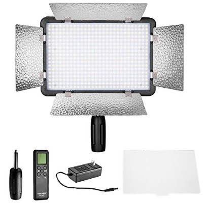 Neewer LED 500 Ultra ハイ Power Dimmable ビデオ Light with ビルトイン LCD Panel with Remote Control for Canon...