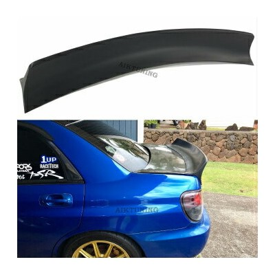 SUBARU インプレッサ スポイラー Subaru Impreza WRX STI 2002-2007 Rocket Bunny Trunk Spoiler Wing Ducktail Lip...