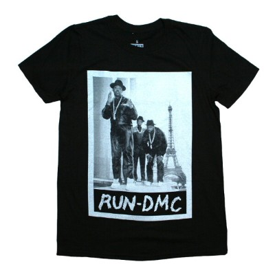 RUN DMC / Paris Photo Tee (Black)