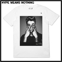 M 【HYPE MEANS NOTHING JUSTIN BIEBER T-SHIRT ジャスティンビーバー Tシャツ】