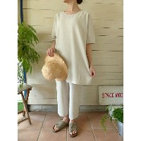 evam eva(エヴァムエヴァ) vie organic cotton easy pants(V171T959)