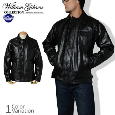 "Buzz Rickson's(バズリクソンズ) ""WILLIAM GIBSON COLLECTION"" TYPE BLACK A-2 DECK HORSE HIDE デッキ ホースハイド..."