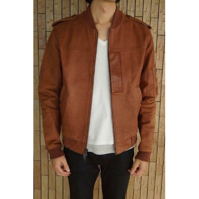 MARC BY MARC JACOBS マーク バイ マークジェイコブス/JACKET/ジャケット ジャケット カウレザージャケット 【中古】【MARC BY MARC JACOBS】
