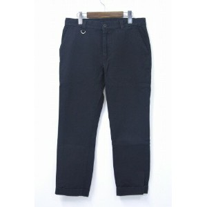 【中古】 uniform experiment (ユニフォームエクスペリメント) COTTON NEP HERRINGBONE ANKLE CUT PANT コットンネップヘリンボーン...