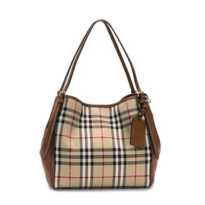 バーバリー BURBERRY トートバッグ HORSFERRY CHECK HONE HORSFERRY CHECK 3939377