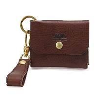 ASSOV アッソブ OILED SHRINK LEATHER CARD CASE カードケース チョコ 101403