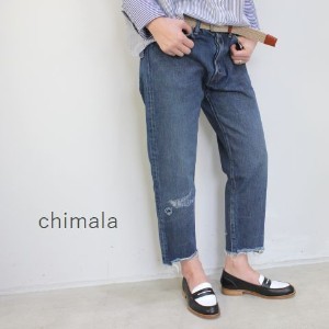 chimala(チマラ)13OZ SELVEDGE DENIMNARROW TAPERED CUTmade in japancs23-wp05b-f