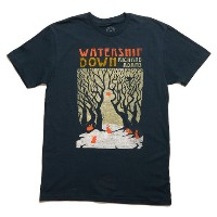 【Out of Print】 Richard Adams / Watership Down Tee (Indigo)