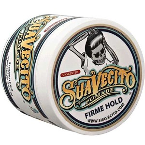 SUAVECITO スアベシート 【FIRME HOLD POMADE Unscented】 水性ポマード ストロングホールド 4OZ(約110G) 無香料
