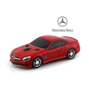 Lumen BENZ-SL63AMG-RE メルセデス ベンツ AMG (レッド) 無線マウス 2.4G Mercedes Benz red wireless mouse ワイヤレス マウス