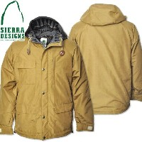 SIERRA DESIGNS (シエラデザインズ) PENDLETON LINED SHORT PARKA TAN 7261