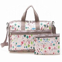 LeSportsac MEDIUM WEEKENDER 7184 D938 WANDER IN THE FOREST ミディアムウィークエンダー レディース ボストン バッグ レスポートサック ...