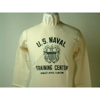 "Buzz Rickson's(バズリクソンズ)Long Sleeve Thermal T-Shirts""U.S.NAVAL TRAINING CENTER"""