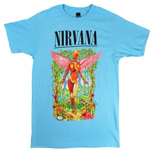 NIRVANA ニルヴァーナ Forest In Utero Tシャツ