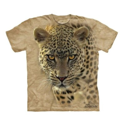 The Mountain Tシャツ On The Prowl (チーター メンズ チーター メーカー 男性用 男女兼用) S-L【輸入品】半袖