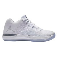 Nike Air Jordan XXX1 31 Low XXXIキッズ White/Pure Platinum/Metallic Silver ジョーダン ナイキ