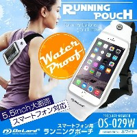 スマホ 防水ケース (OS-029W) ホワイト iPhone7 iPhone7 Plus iPhone6s iPhone6s Plus Xperia xz Galaxy s8 防滴仕様...